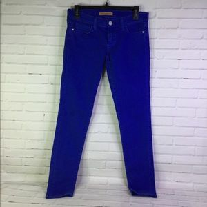 Rebecca Minkoff Sz 27 Cobalt Bleeker Skinny Jeans